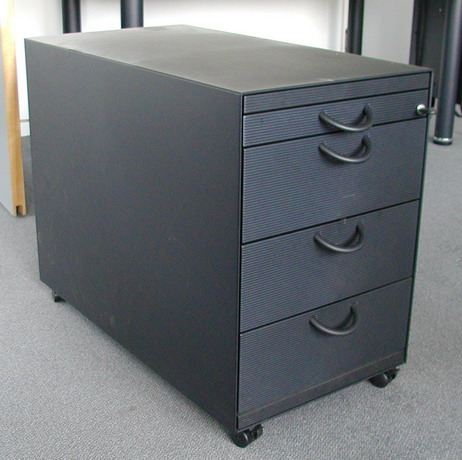 f29 vitra rollcontainer aktenschrank schrank ebay. Black Bedroom Furniture Sets. Home Design Ideas