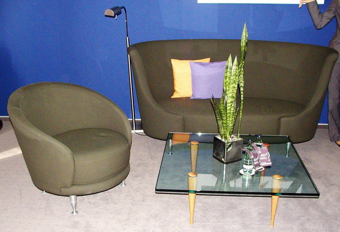 moroso newtone designer couch sofa sessel mit glastisch ebay. Black Bedroom Furniture Sets. Home Design Ideas